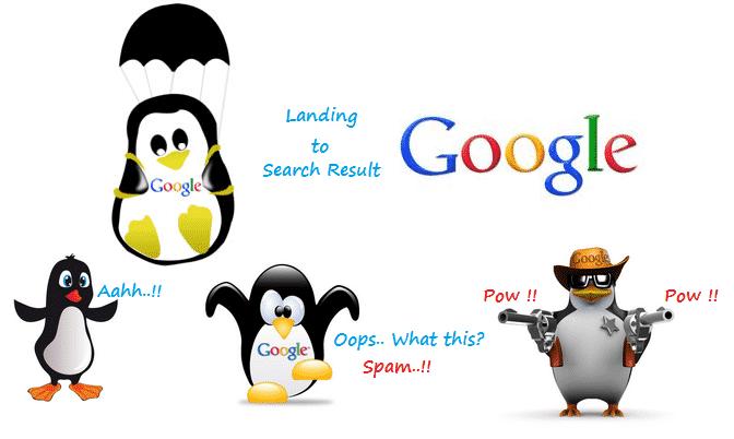 Google-Penguin-Update 5 إجراءات فعالة لمنع تضرر موقعك من تحديثات جوجل البطريق Google Penguin