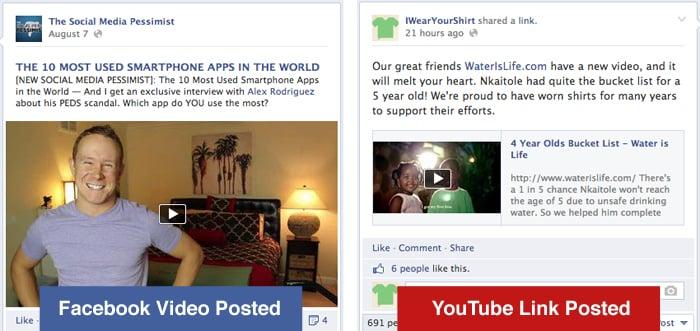facebook-youtube-video لماذا مشاركة فيديوهات يوتيوب على الفيس بوك سلوك خاطئ ؟