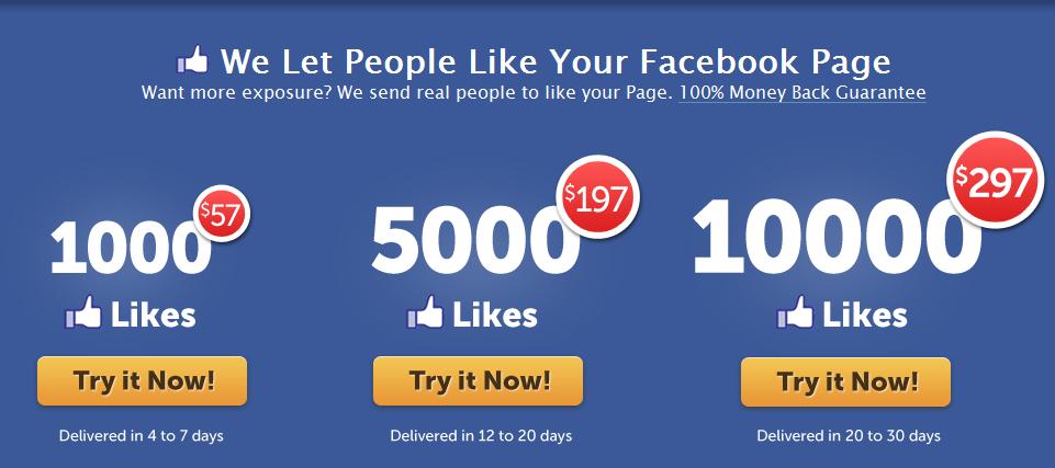 Buy-Facebook-Likes مستقبل بيع و شراء الإعجابات لصفحات فيس بوك و طرق آمنة لذلك