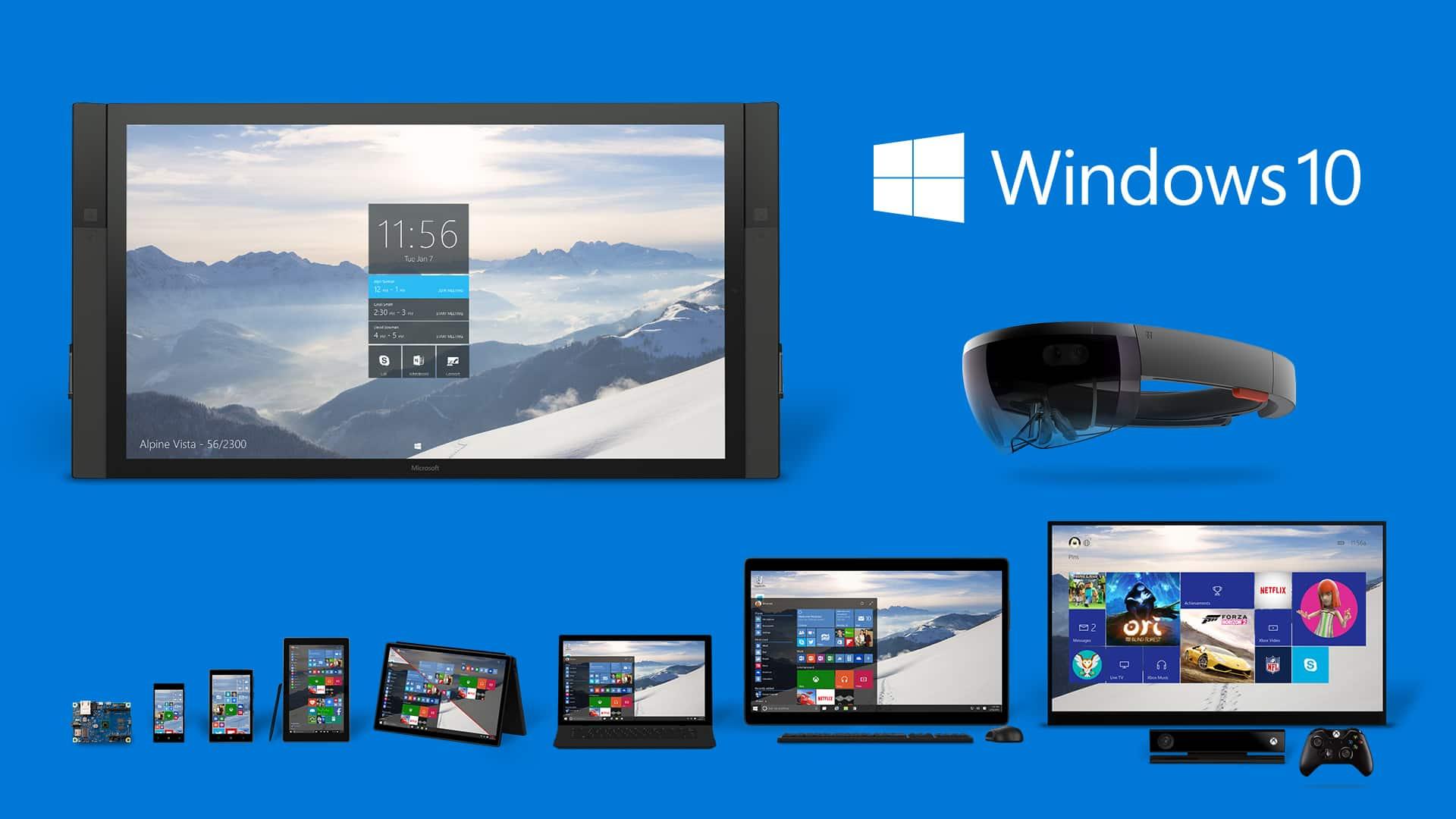 Windows-10_Product-Family 7 مميزات رئيسية في ويندوز 10 تجعله الأفضل