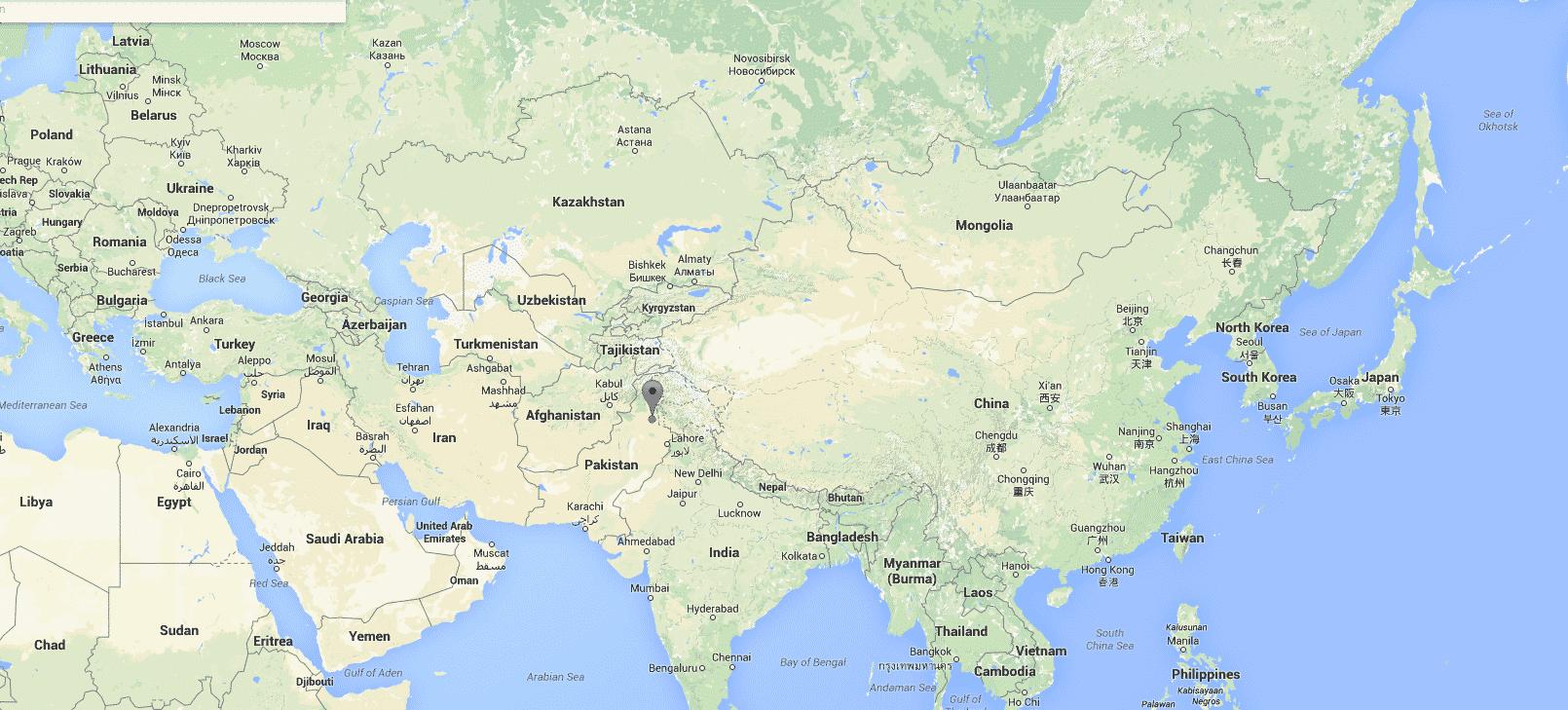141 ضحكة تقنية : تبول الأندرويد على أبل في باكستان باستخدام Map Maker