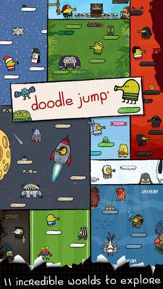 Doodle-Jump 8 تطبيقات للمحمول حققت أكثر من 100 ألف دولار