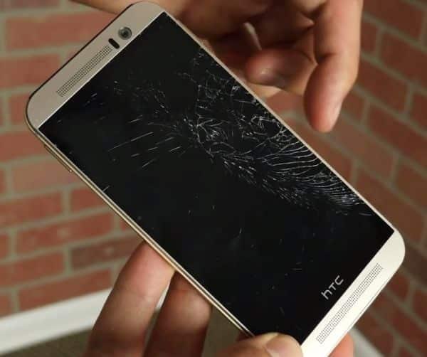 HTC-One-M9-drop-test مراجعة هاتف HTC ONE M9 : أفضل كارثة لسنة 2015