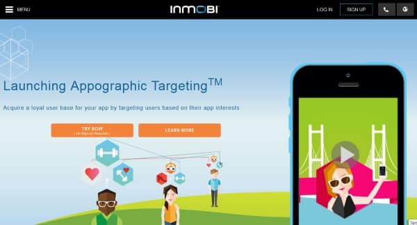 inmobi أفضل البرامج الإعلانية للربح من تطبيقات و ألعاب الموبايل