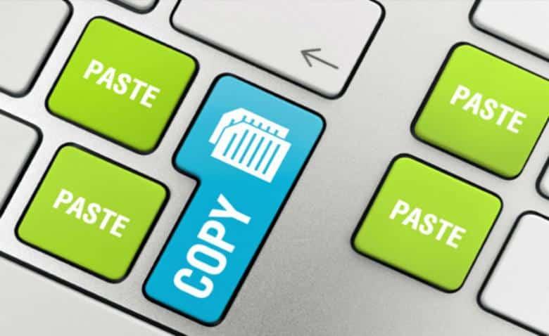 keyboard المحتوى المنقول و المسروق: الأول شرعي و الثاني ممنوع