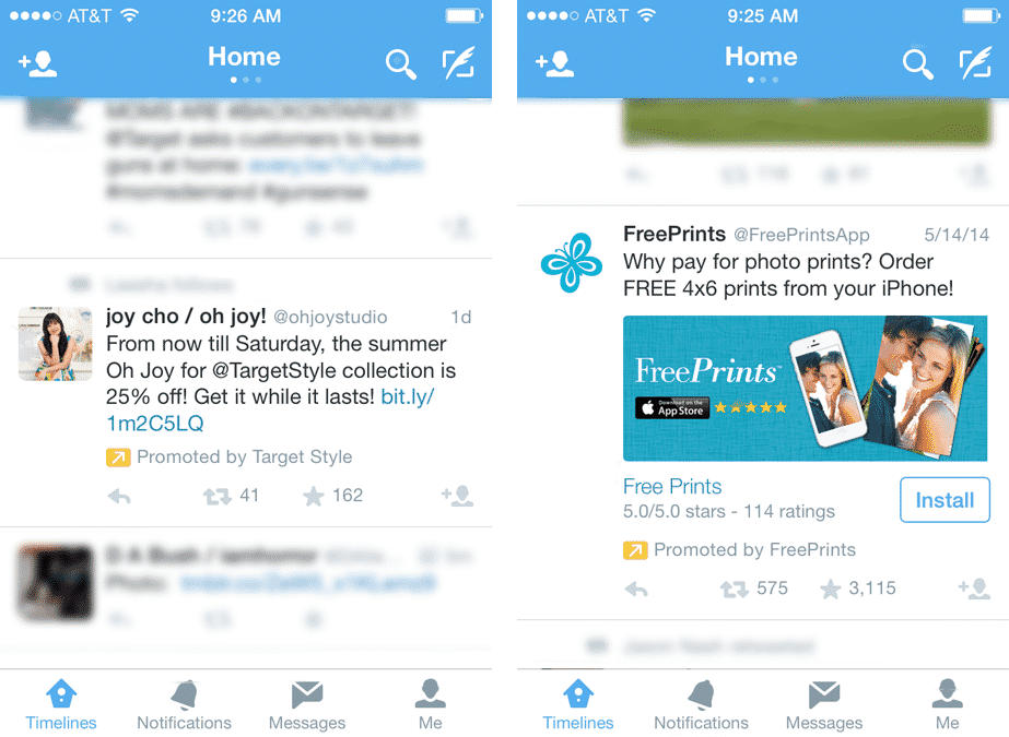 twitter-app أفضل البرامج الإعلانية للربح من تطبيقات و ألعاب الموبايل