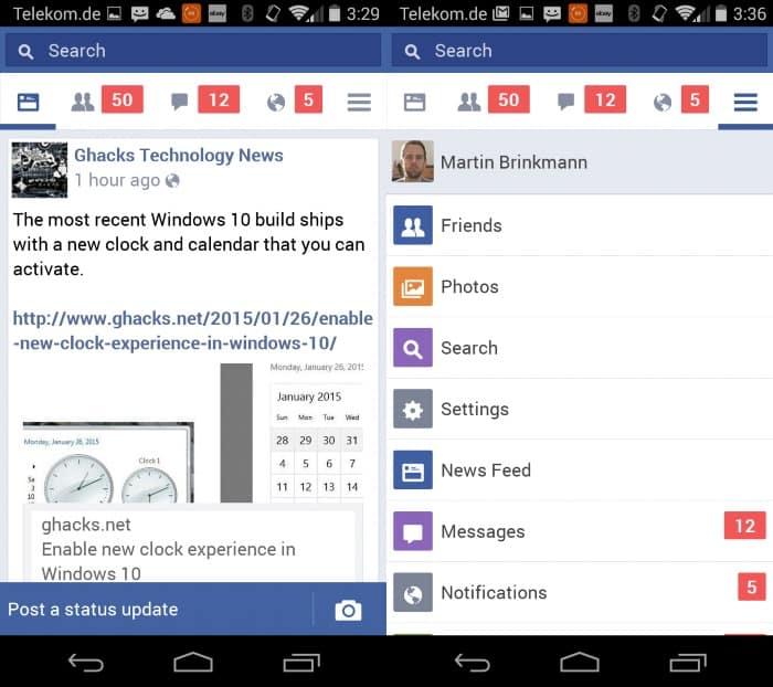 facebook-lite-android سيو: نسخة المحمول للإنترنت الضعيف على طريقة Facebook Lite