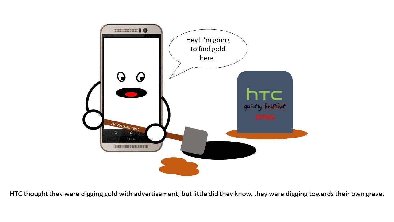 HTC-ADS ضحكة تقنية: سامسونج و HTC يرسلان الإعلانات و ليس التحديثات!