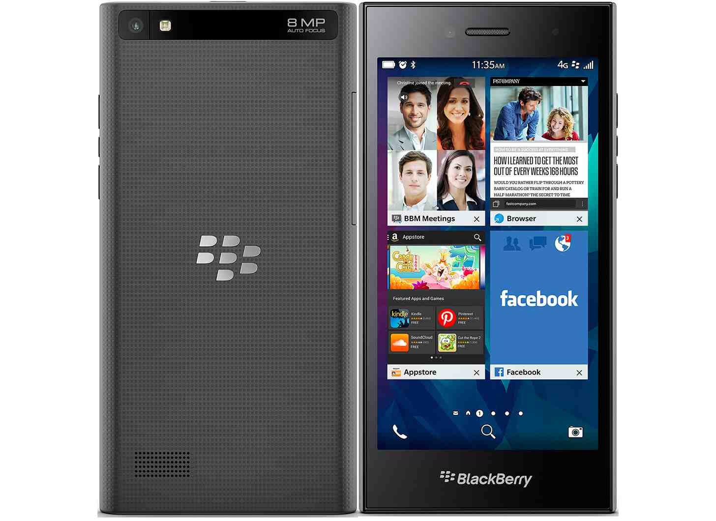 The-BlackBerry-Leap مراجعة BlackBerry Leap: ليس سيئا بالنظر إلى بطاريته