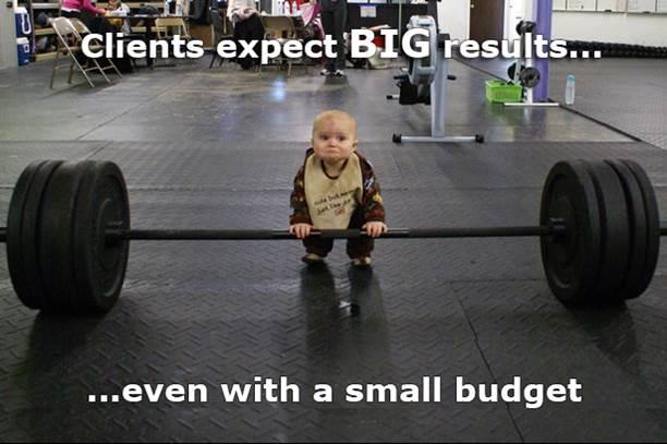 big-results-small-budget حملات سيو الحقيقية و الناجحة ليست رخيصة