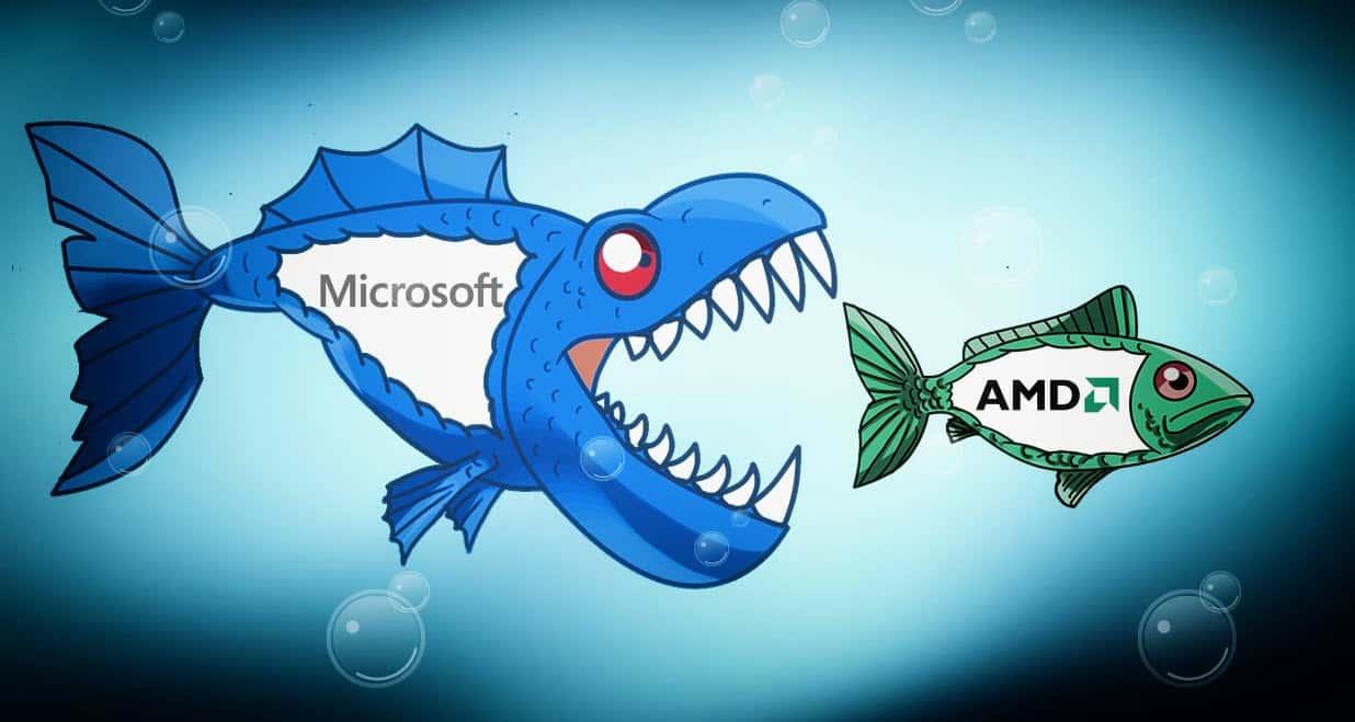 does-microsoft-corporation-acquiring-amd-makes-sense شركة AMD من نصيب من؟ مايكروسوفت أو سامسونج أم intel؟