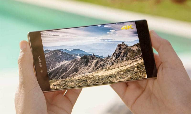 sony-xperia-z5-premium-ecran-4K 5 أسباب قد تؤدي إلى فشل Xperia Z5 Premium