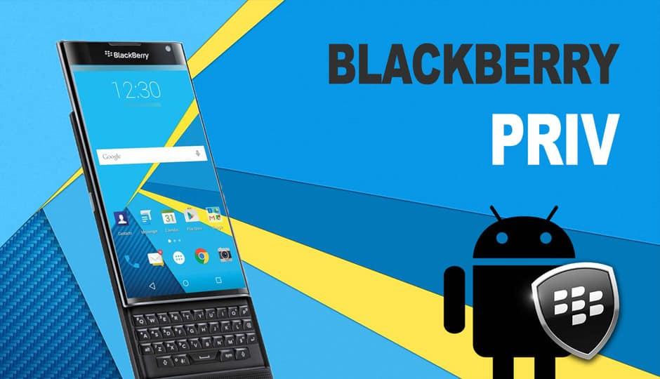 BlackBerry-Priv مراجعة BlackBerry Priv: أفضل هاتف أندرويد أمن