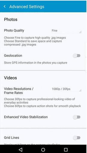 The-Priv%E2%80%99s-camera-interface مراجعة BlackBerry Priv: أفضل هاتف أندرويد أمن