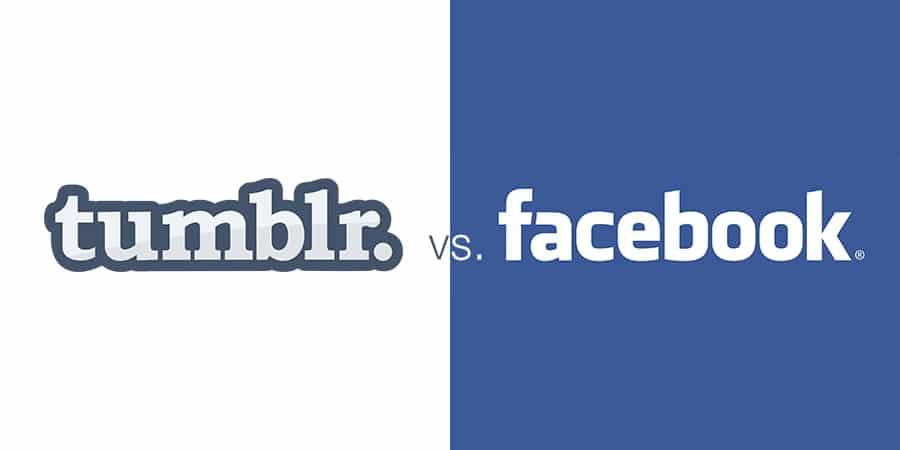 tumblr-vs-facebook حقائق عن تمبلر و مقارنة له مع فيس بوك و سناب شات مع تويتر
