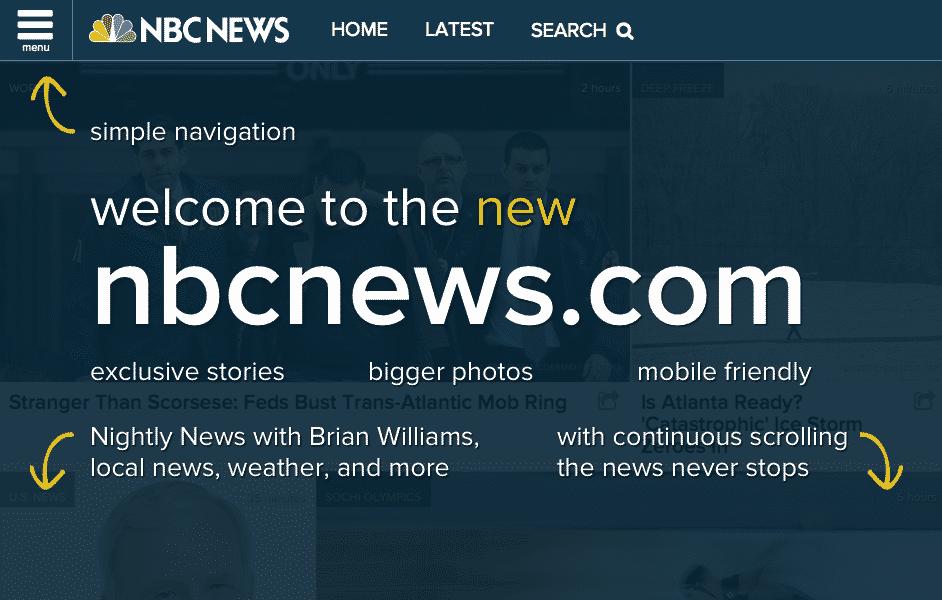 NBC-News-1 حقائق حاسمة للتخلي عن قائمة همبرغر Hamburger في التطبيقات و المواقع
