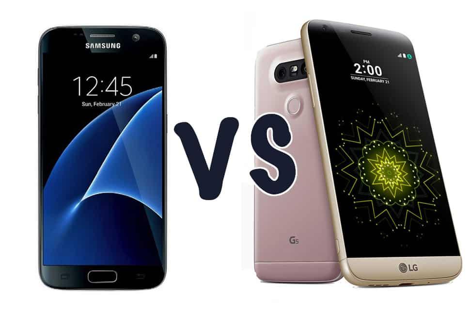 LG-G5-VS-galaxy-s7 معركة الأداء: هاتف LG G5 يتفوق على جالكسي اس 7 و iPhone 6s