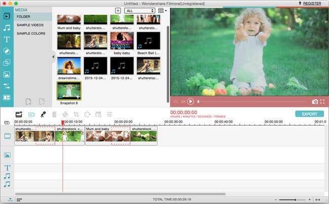Filmora-Video-Editor أفضل 5 برامج مجانية لصناعة فيديوهات يوتيوب إحترافية