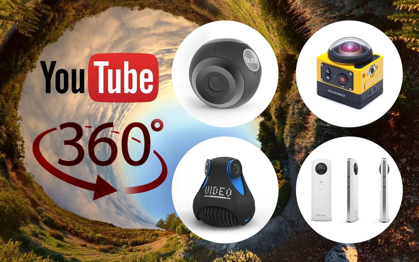 Cameras-Youtube-360-degree فيديوهات 360 درجة: ما هي؟ وكيف يمكنك تصويرها ورفعها إلى يوتيوب؟