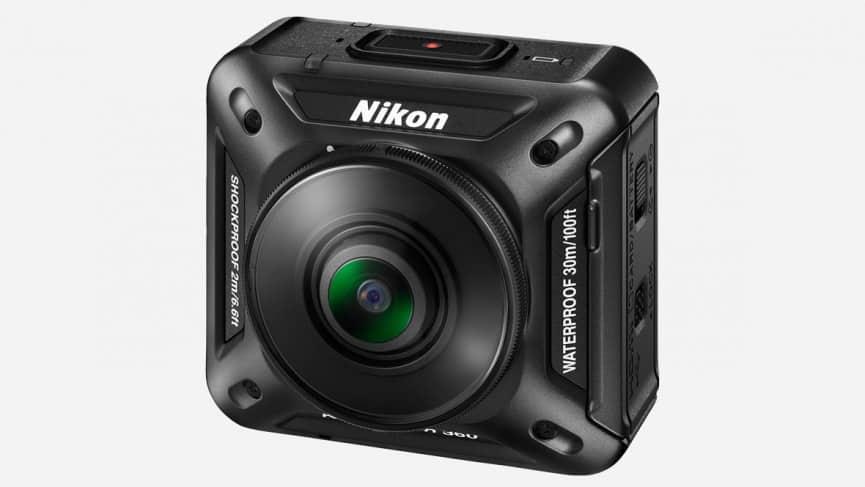 Nikon-KeyMission-360 أفضل الكاميرات لتصوير فيديوهات 360 درجة