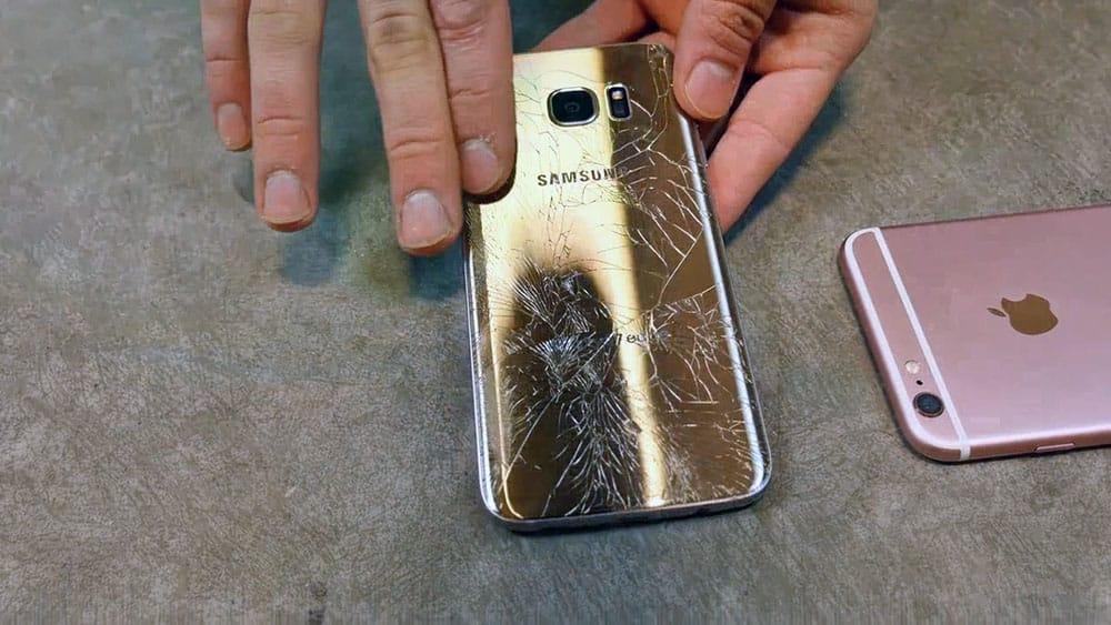 galaxy-s7-iphone-6s-drop-test مراجعة جالكسي اس 7: كفاكم تطبيلا هذا ليس الأفضل