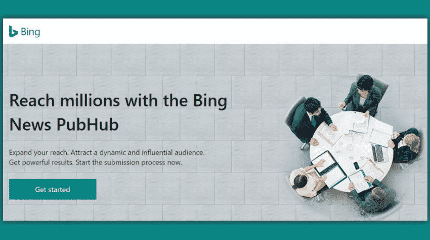 bing-news-hub كيفية اضافة المواقع الإخبارية إلى Bing News وخدمات مايكروسوفت