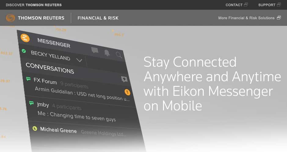 eikon-messenger بعد التخلي عن ياهو ماسنجر لماذا شركات النفط تتجاهل فيس بوك و واتساب؟