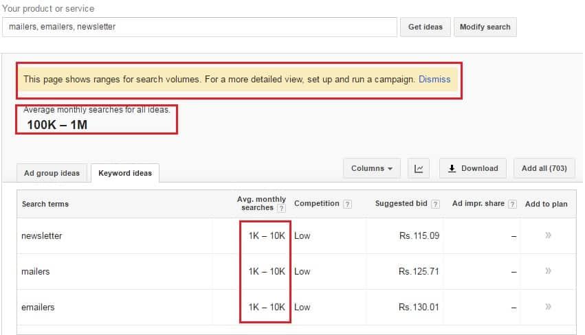adwords-keyword-planner-limited جوجل ينتقم من المعلنين على فيس بوك ويعاقب قطاع SEO