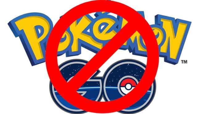pokemon-go-no لعبة بوكيمون جو بين المنع الجزئي والحظر الشامل