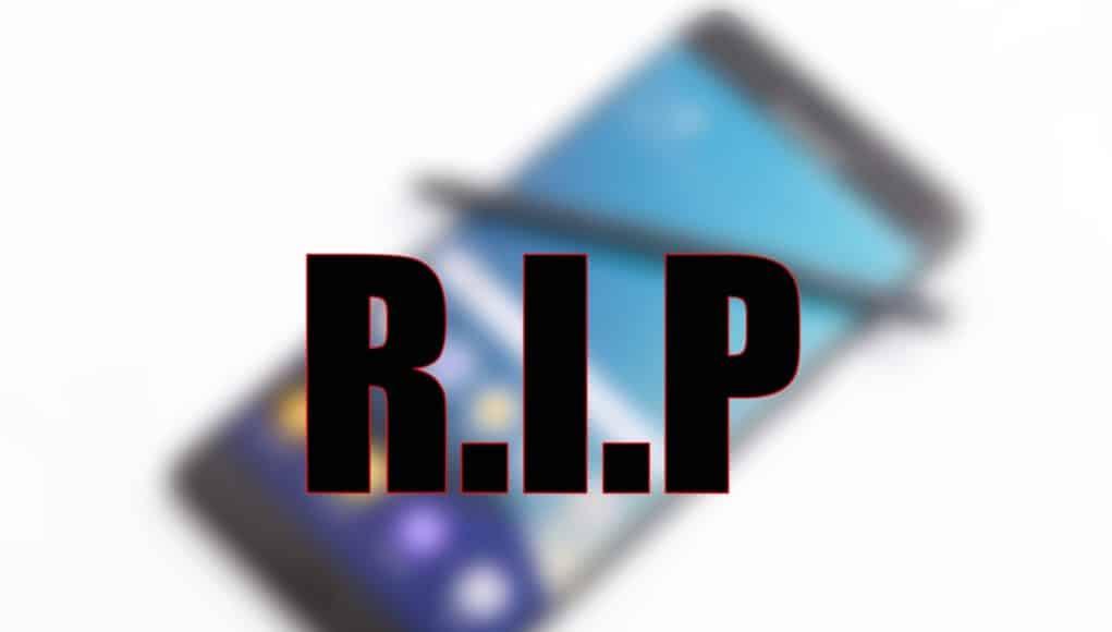 Galaxy-Note-7-RIP دروس في ريادة الأعمال من أزمة انفجارات جالكسي نوت 7
