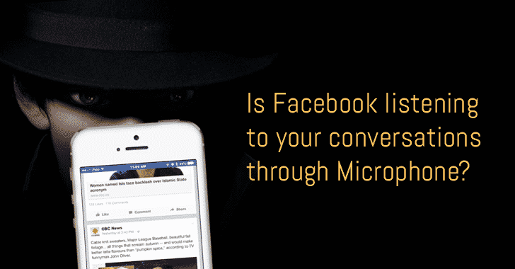facebook-microphone كيف يتجسس فيس بوك عليك من خلال الميكروفون؟ ولماذا؟