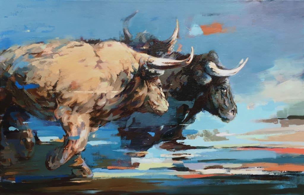 scottewen-bulls-painting-1024x656 خطة تجنب خسائر تعويم الجنيه المصري دون الإضرار بالشركات والموظفين والمشاريع التجارية والعمال