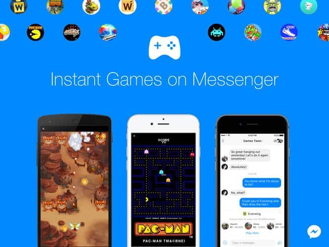 instant-games-on-messenger كعكة 100 مليار دولار تنتظر مبرمجي ألعاب HTML5 لفيس بوك ماسنجر وتطبيقات الدردشة