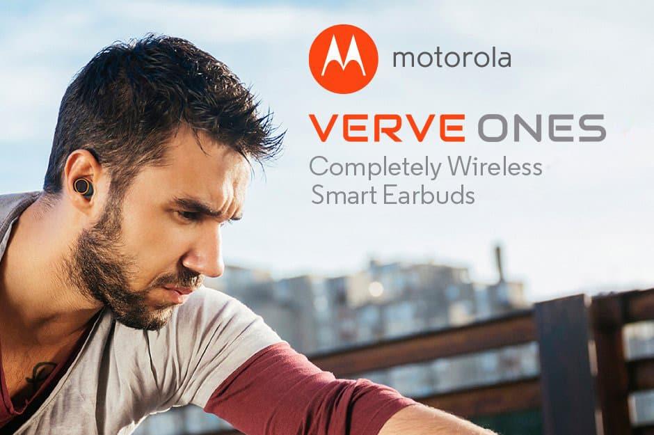 Motorola-VerveOnes 4 أسباب لشراء السماعات اللاسلكية الذكية Motorola VerveOnes