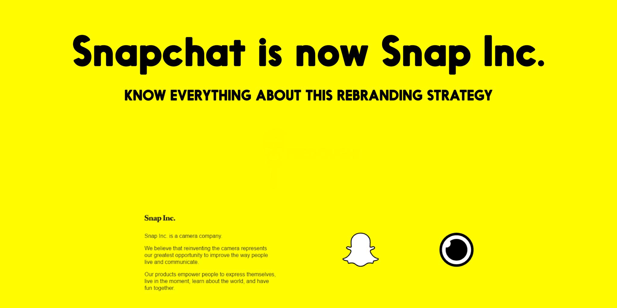 snap-inc إعادة تعريف سناب شات: شركة كاميرا وتصوير وليس تطبيق دردشة وتواصل