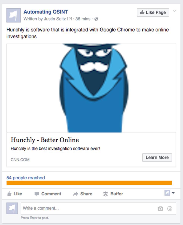 Hunchly_CNN إعلانات فيس بوك: أفضل وسيلة لنشر الأخبار المزيفة والفيروسات
