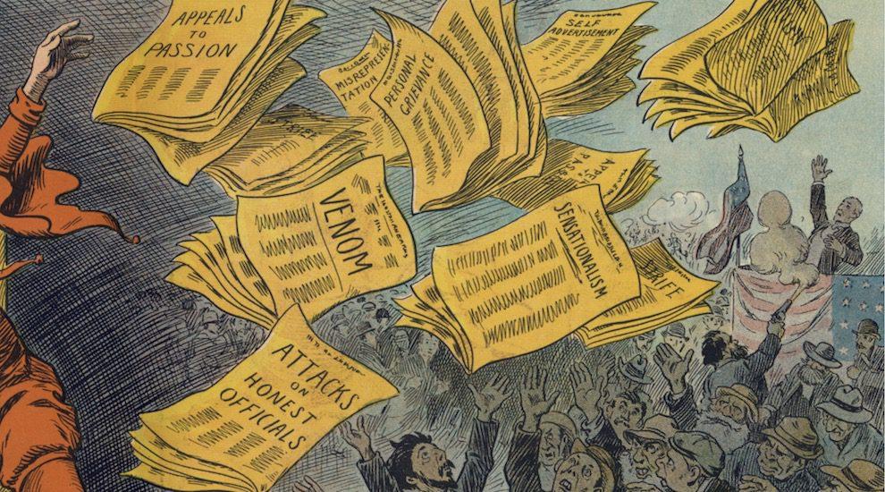 fake-news-public-domain-2-credit-990x550 موضة الصحافة الصفراء المربحة والترويج للأخبار المزيفة يجب أن تموت