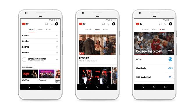 youtube-tv-mobile ما هي خدمة YouTube TV؟ وكيف ستزيد من مشاهدات فيديوهات يوتيوب؟