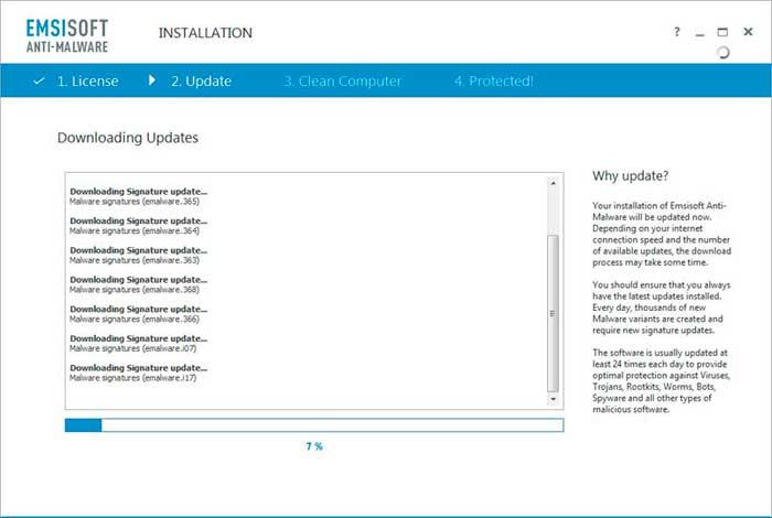 Emsisoft-Anti-Malware كيفية حذف فيروس الفدية WannaCry من حواسيب ويندوز المصابة
