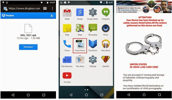 Koler-Android-Ransomware فيروس الفدية Koler شبيه WannaCry لهواتف أندرويد: قصته وكيفية حذفه