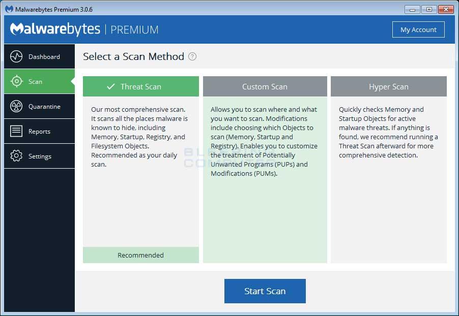 Malwarebytes-Anti-Malware-1 كيفية حذف فيروس الفدية WannaCry من حواسيب ويندوز المصابة