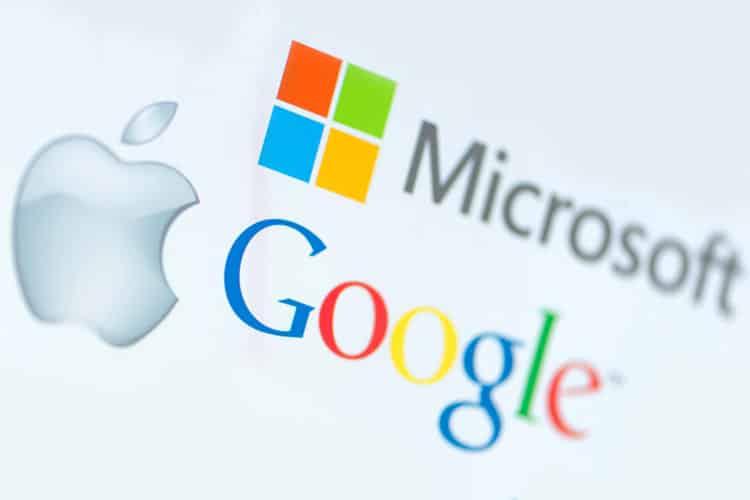 google-apple-microsoft آبل سيري تبنت جوجل وتخلت عن بينج لأنه فاشل و عن مايكروسوفت لأنها مخادعة