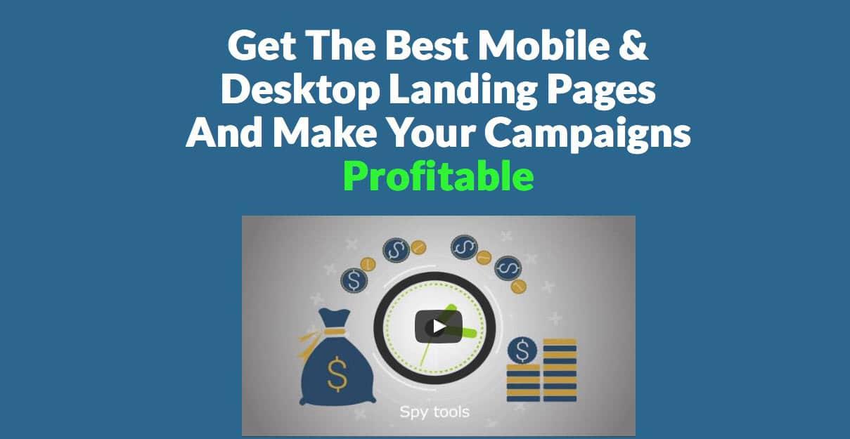 create-landing-page-purelander صناعة صفحة هبوط landing page ناجحة بدون برمجة وبسرعة