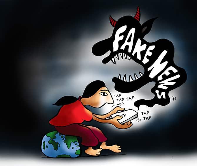 fake-news الأخبار المزيفة على واتساب و فيس بوك قاتلة للأبرياء