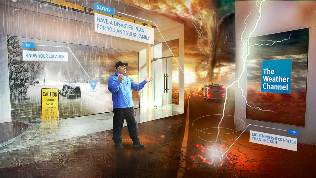 the-weather-channel-ar قصة انسحاب The Weather Channel من فيس بوك فيديو