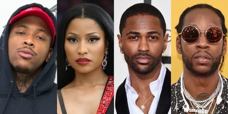 YG-Nicki-Minaj-Big-Sean-2-Chainz نجوم موسيقى راب يحلمون بعصر بيتكوين والعملات الرقمية