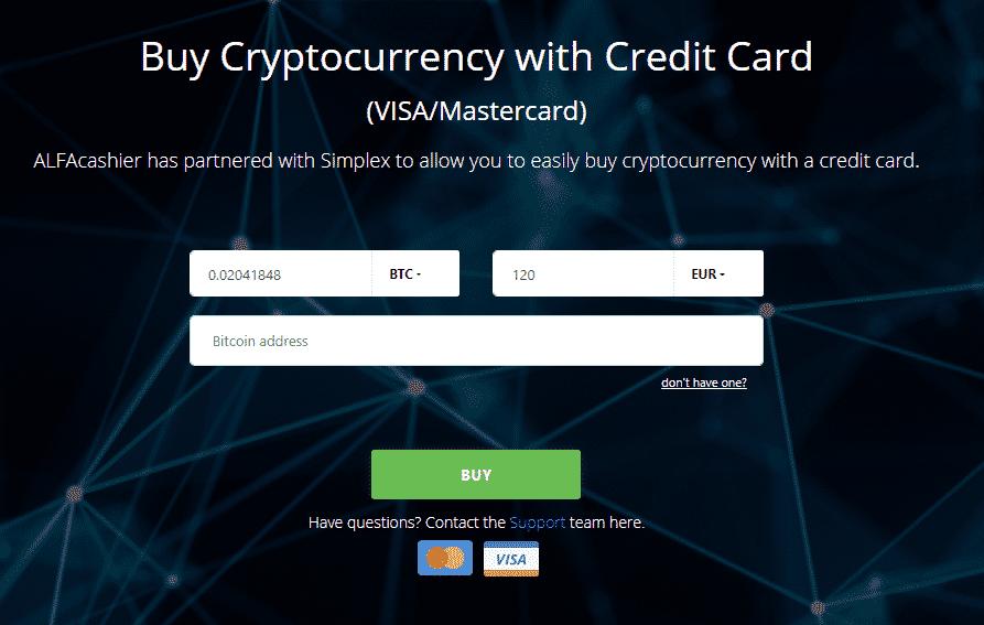 Buy-Cryptocurrency-with-Credit-Card كيف احصل على بيتكوين بسرعة وبسهولة