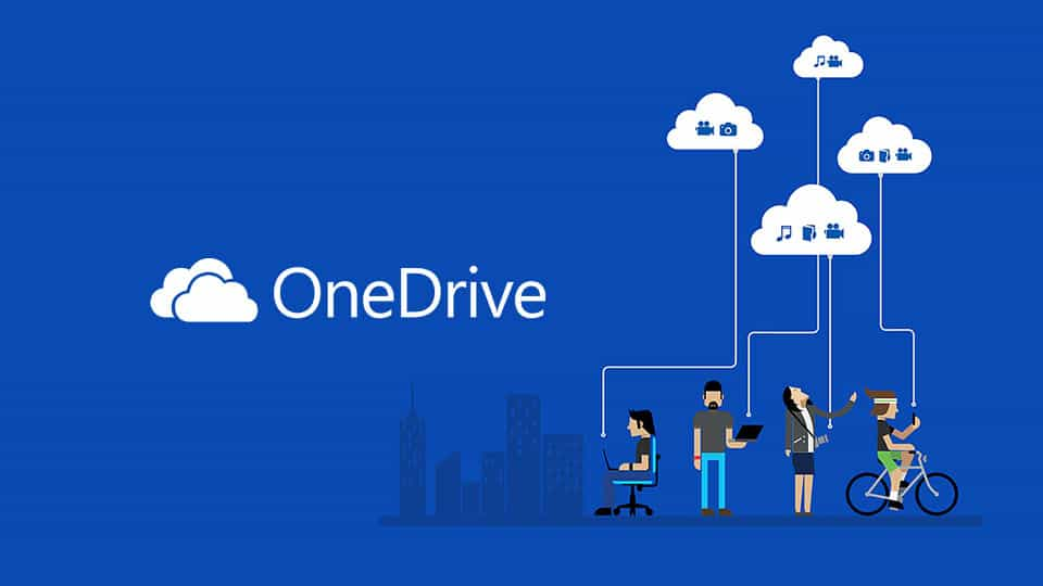 Microsoft-OneDrive أفضل 5 مواقع خدمات تخزين الملفات مجانا