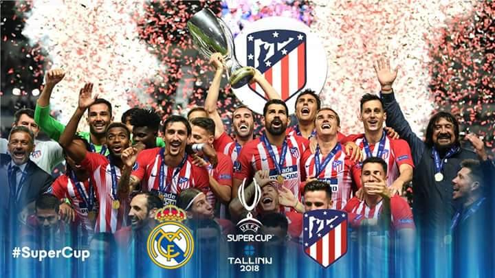 supercup 5 دروس من فوز أتلتيكو مدريد بالسوبر الأوروبي على حساب ريال مدريد